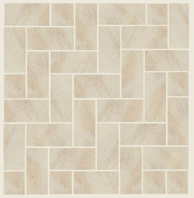 Cleveland Quarries Berea Sandstone - 90 Degree Herringbone Sandstone Patio Design
